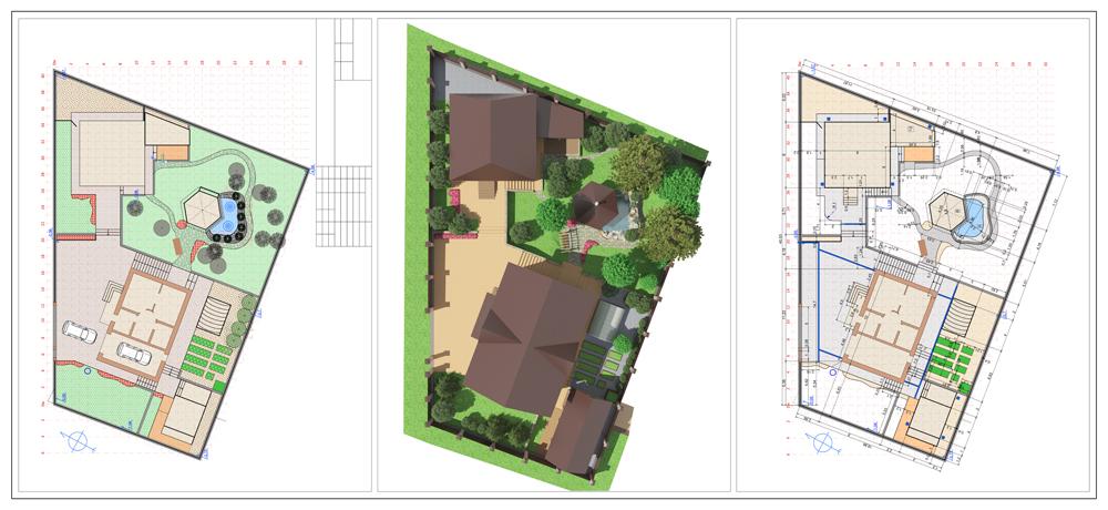 Plan D Amenagement Exterieur Jardins De La Piniere Conception Et