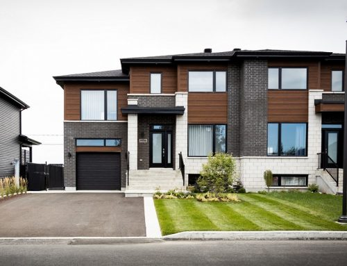 Aménagement de façade de maison – Carignan